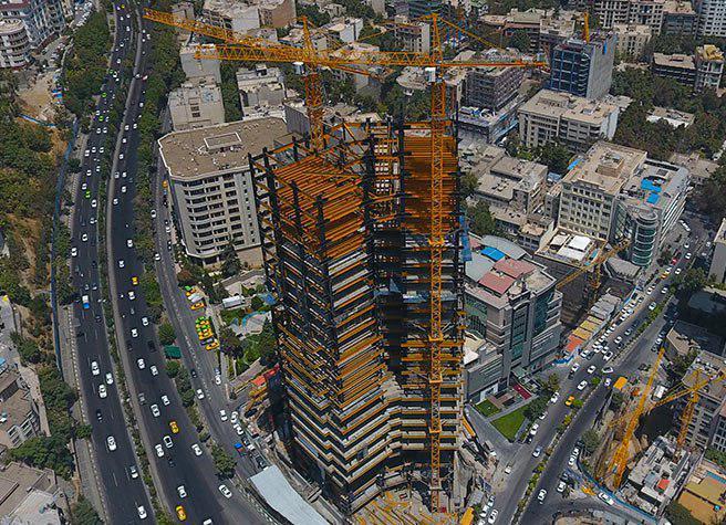 پروژه الهیه(ساختمان مرکزی بانک آینده)